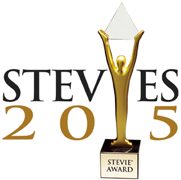 2015 Gold Stevie® Award, New Product and Service category